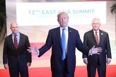 Trump heads home after `tremendously successful` Asia trip