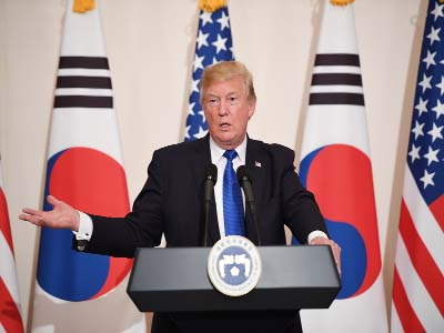 Trump defends Asia trip, vows `maximum pressure` on N Korea