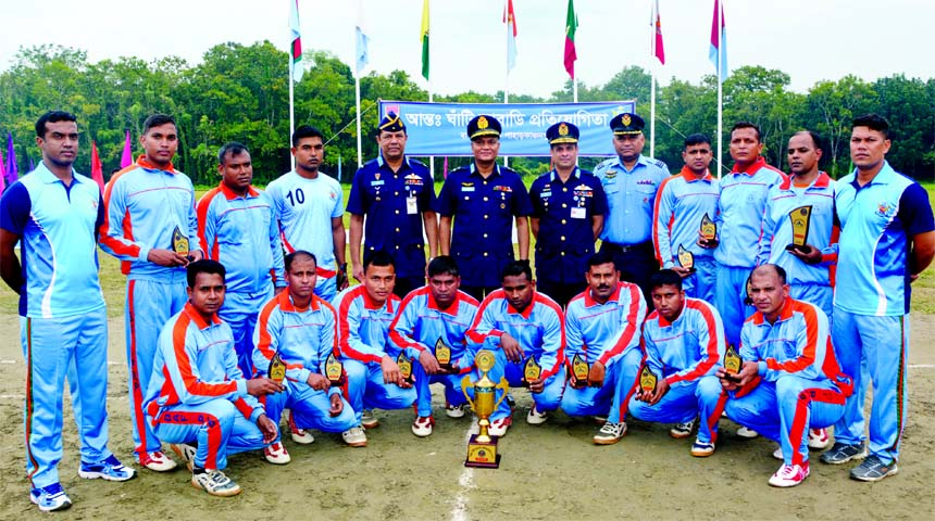 BAF Base Paharkanchanpur emerge champion