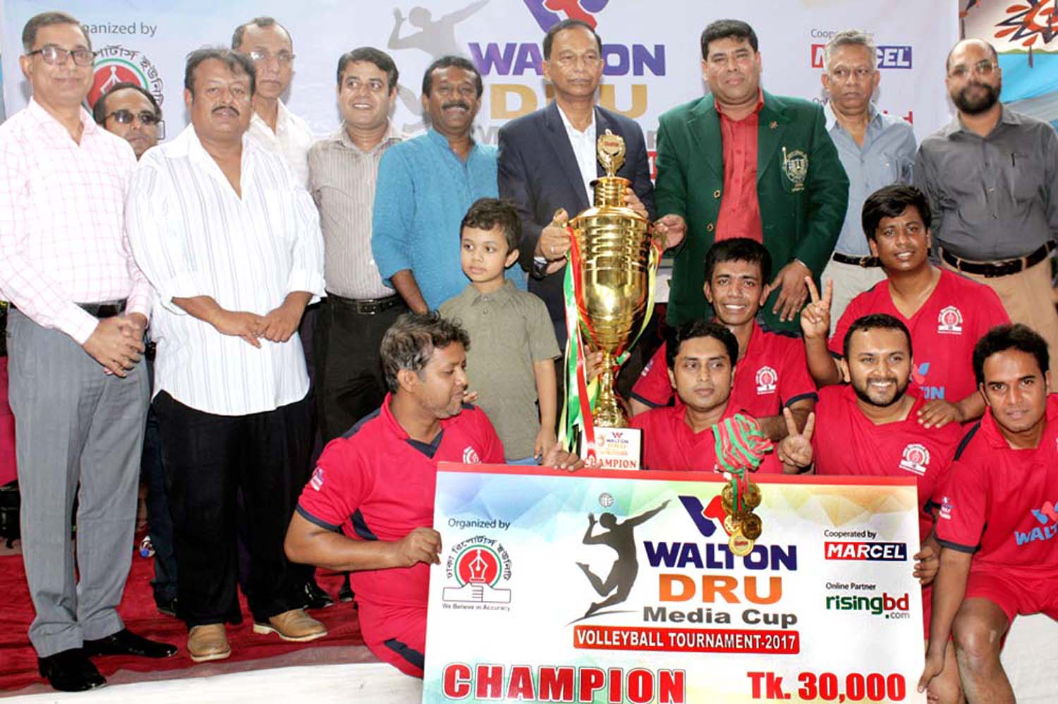 Radio Today clinch DRU Media Cup Volleyball title