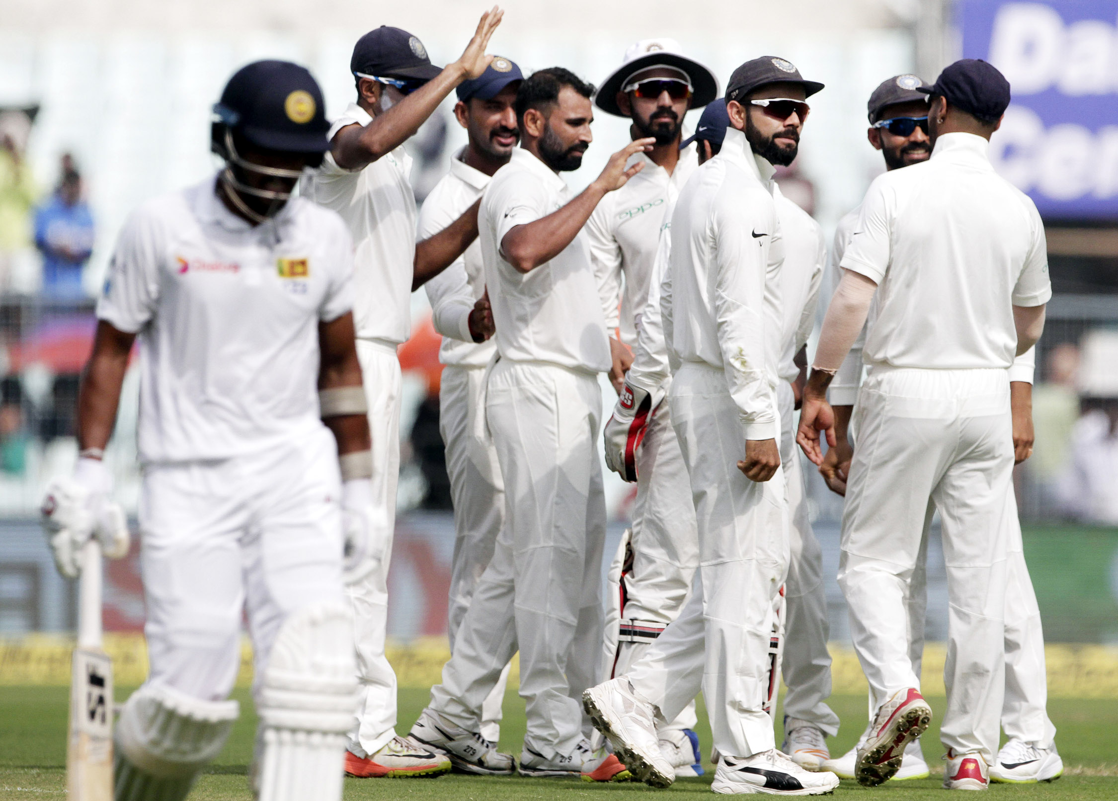 Herath fifty puts Sri Lanka on top in first India Test