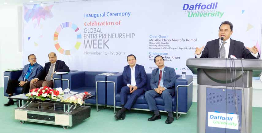 CUB, DIU celebrate Global Entrepreneurship Week
