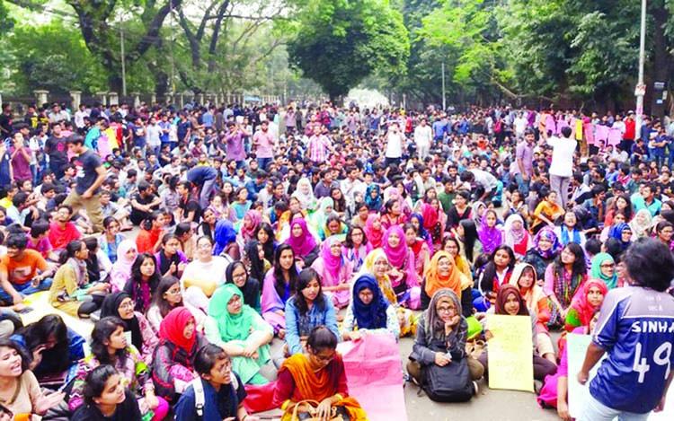 BUET students still boycott classes