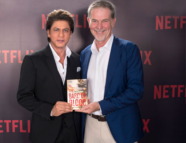 SRK and Netflix to bring new original series based on `Bard of Blood`