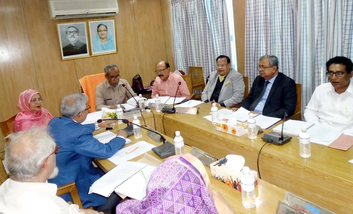 The 43rd Board meeting of CWASA  was held at Chittagong WASA Board Room on Saturday. Chairman of WASA  Board Prof Dr SM Nazrul Islam  presided over  the meeting. WASA Board Member Additional Secretary Begum Nasrin Akter and other members also attended the meeting.