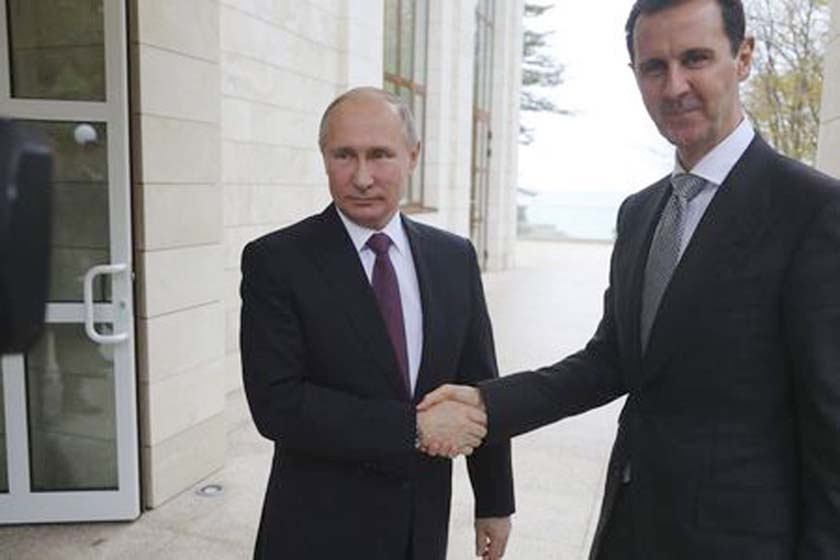 Putin, Assad for  political solution to Syria`s conflict