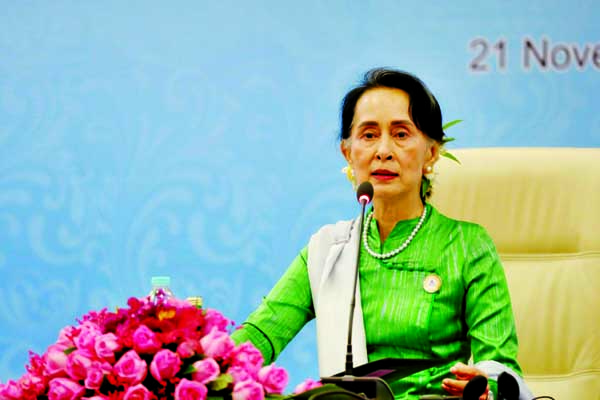 Suu Kyi hopes for deal with BD on Rohingya