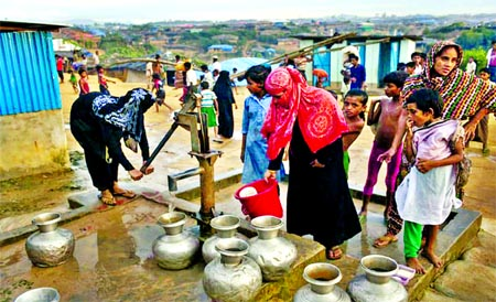 Diarrhoea spreading in Rohingya camps