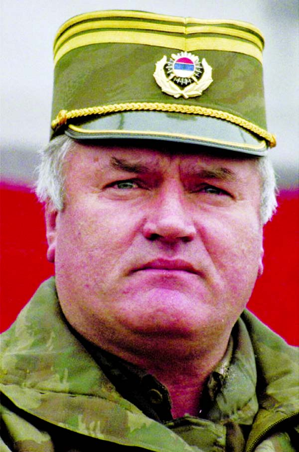 Mladic sentenced to life in prison for genocide