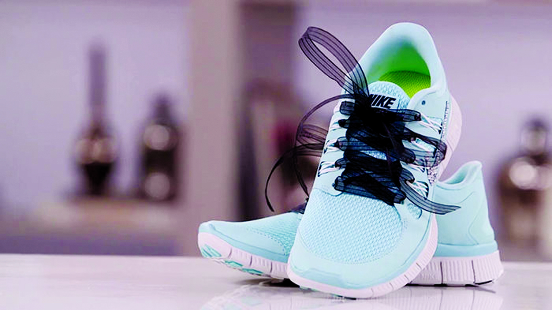 Give your old  sneakers  a pretty makeover