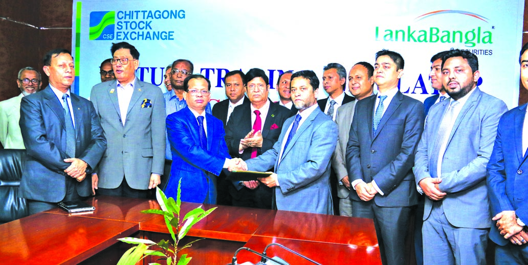 CSE, LankaBangla inks deal