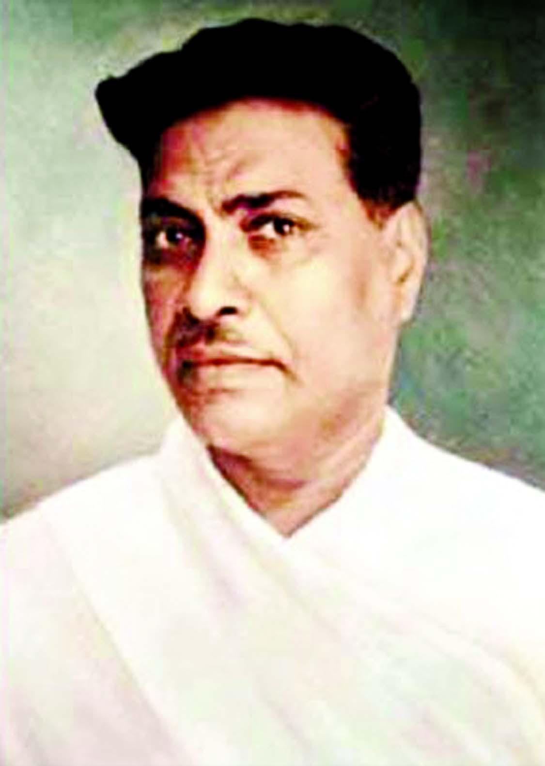 Novelist Bibhutibhushan Bandyopadhyay