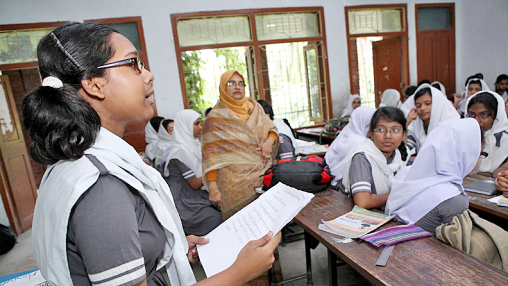 Participatory teaching-learning in Bangladesh