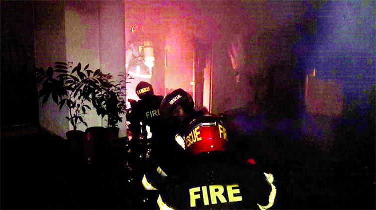 Fire ravages N