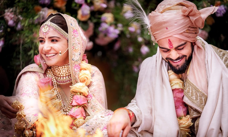 India celebrate Kohli-Sharma 'royal' wedding