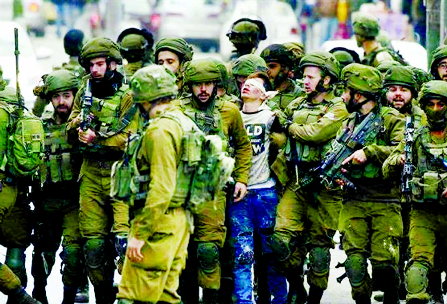 Palestinian teen, who was subject of viral photo, to appear in Israeli military court