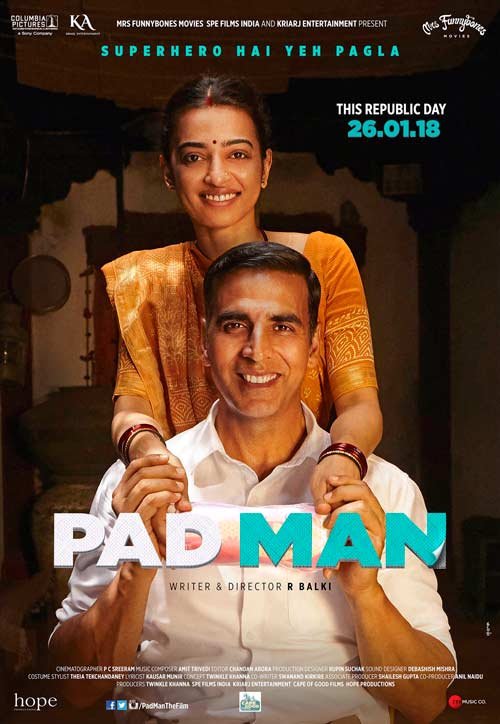 Akshay shares the new poster of PadMan while giving the hint about trailer