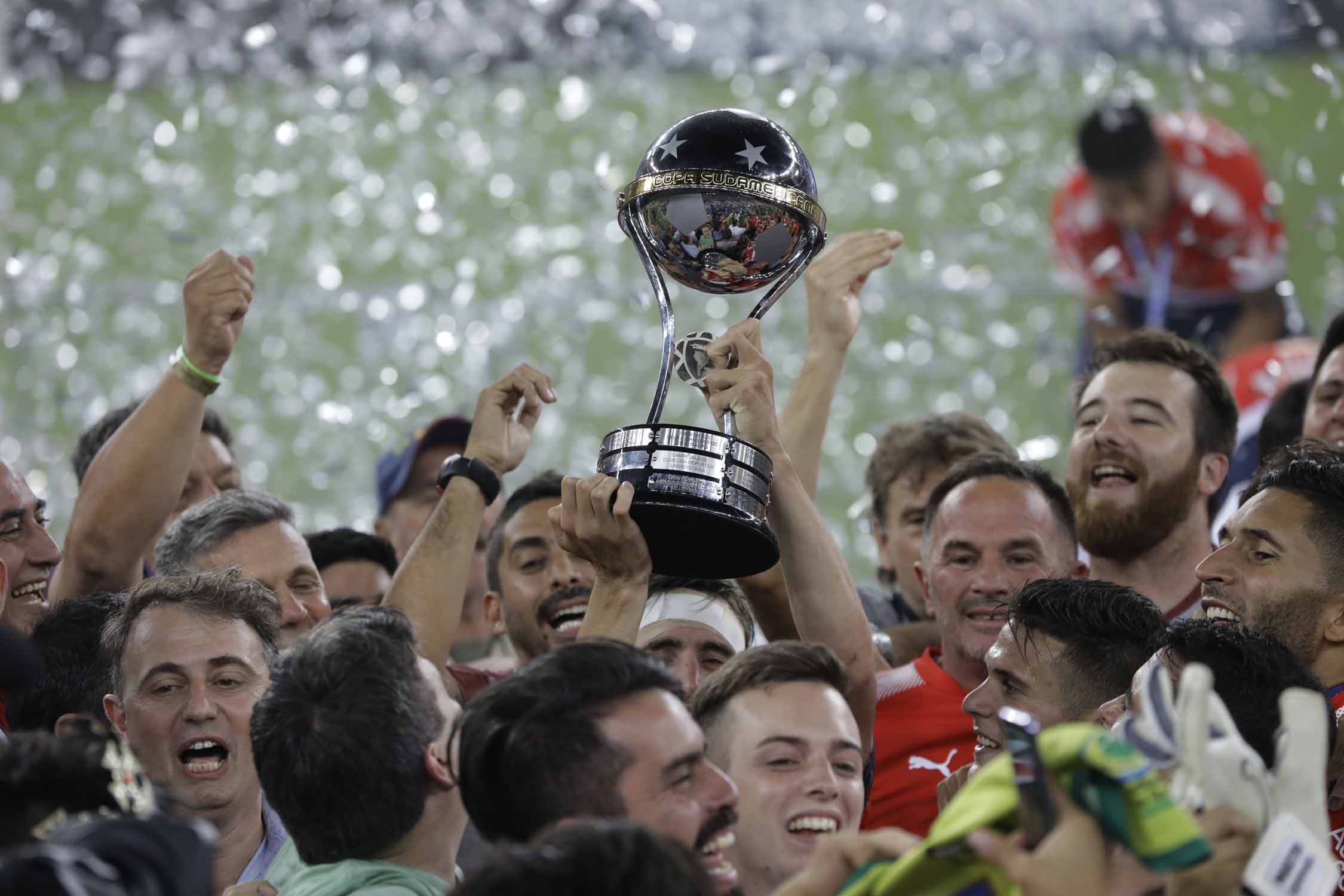 Argentina's Independiente win Copa Sudamericana in Rio