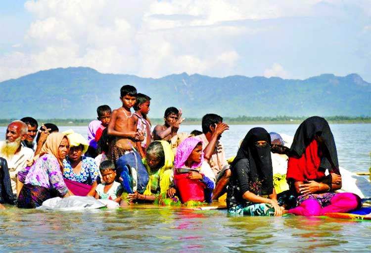 The Rohingya exodus was triggered by a Myanmar army crackdown that has been described as ethnic cleansing.