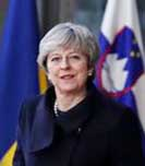 After UK setback, May wins Brexit cheer in Brussels