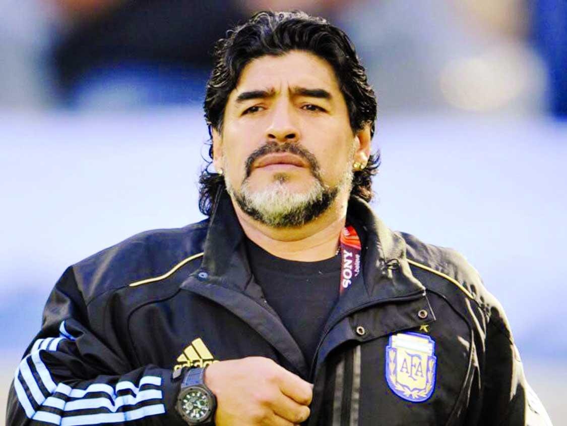 Maradona lauds 'revelation' Mbappe