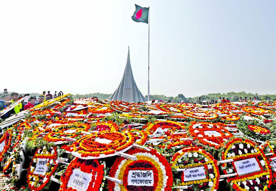 Homage paid to Lib War martyrs