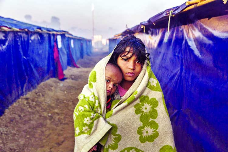 UN agencies scale up relief for Rohingyas