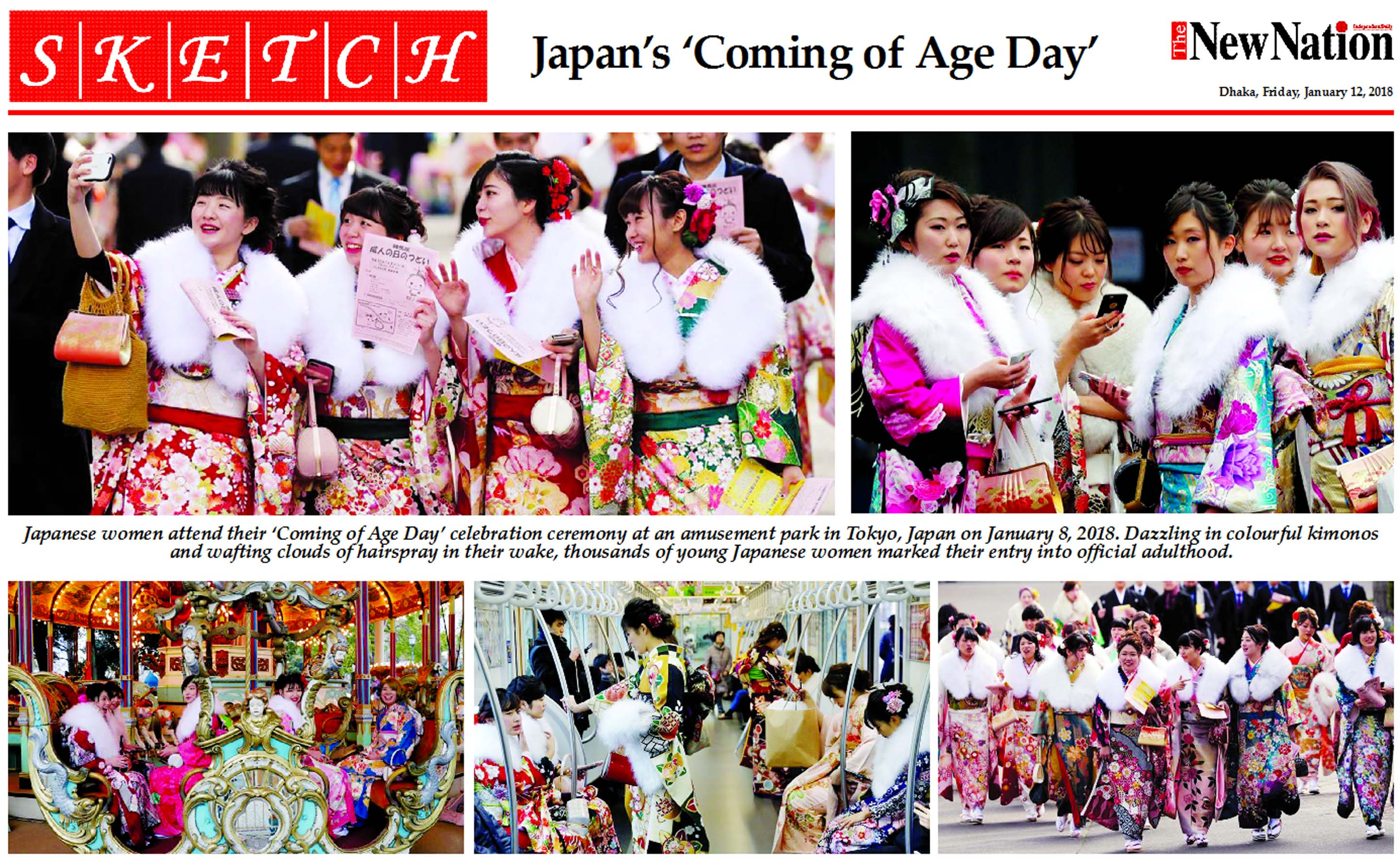Japan's 'Coming of Age Day'