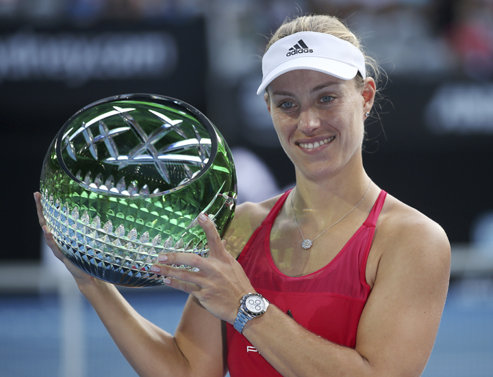Kerber beats Barty to win Sydney International