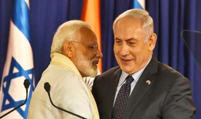 Netanyahu begins 6-day India visit today with focus on defence, security