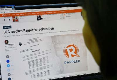 Philippine news website's licence revoked after Duterte threat