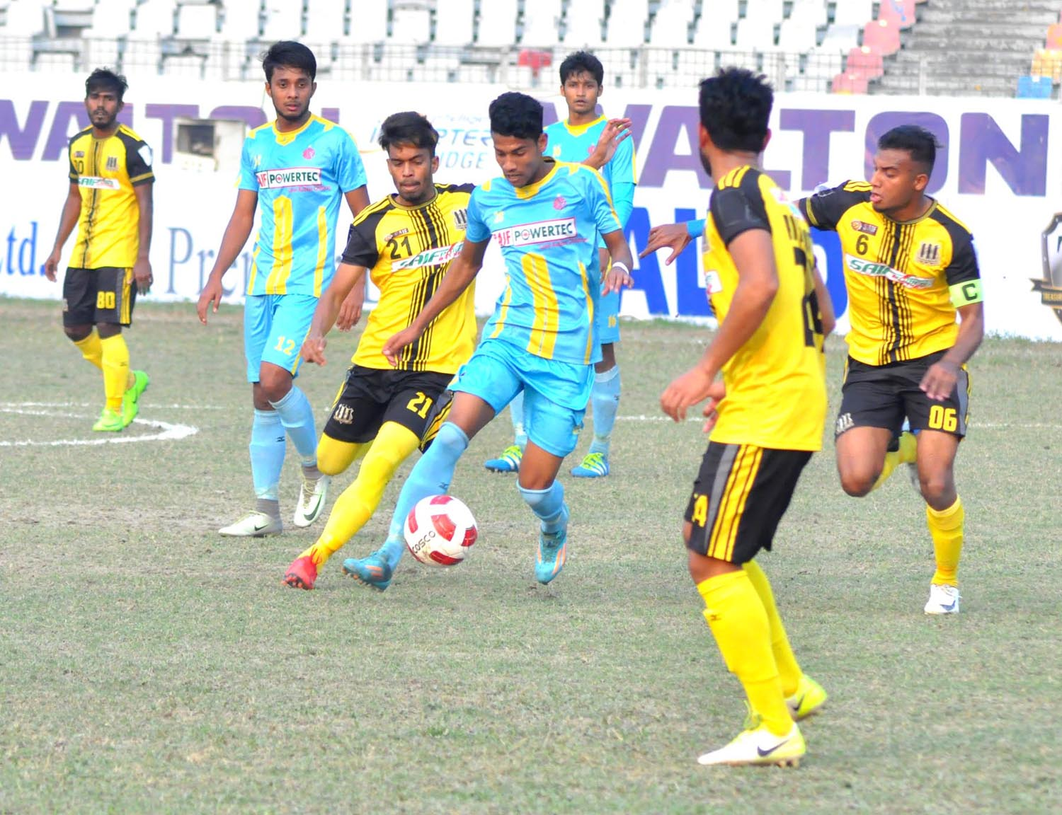 Ctg Abahani play 1-1 with Saif SC in opener