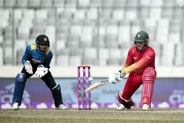Zimbabwe beat Lanka by 12 runs
