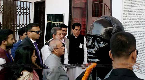 Pranab paid tributes to Surya Sen, Pritilata