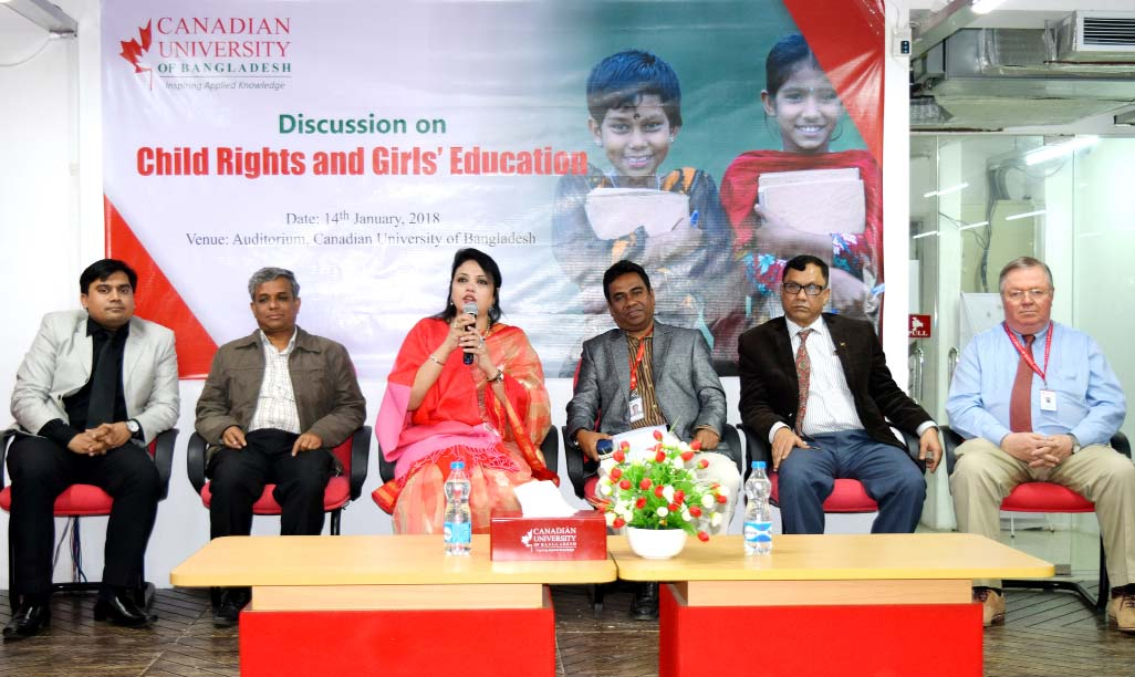 CUB discusses on child rights, girls education
