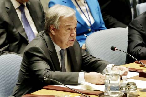 Threat from nukes, other weapons, gathers force: UN Chief