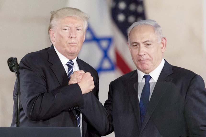 Trump support carries rewards and risks for Israel