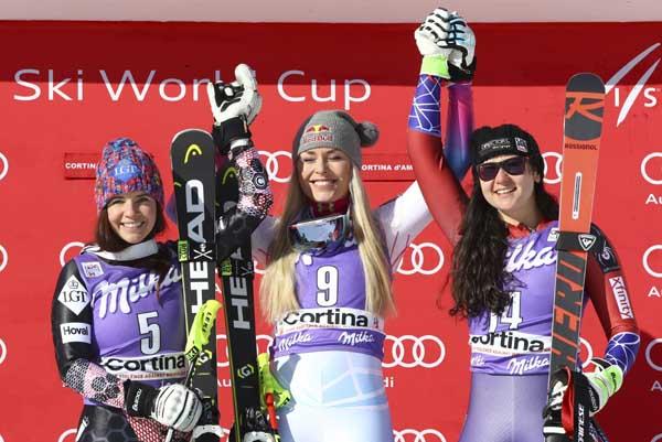 Alpine skiing: Shiffrin, Vonn jostle for Olympic speed queen crown