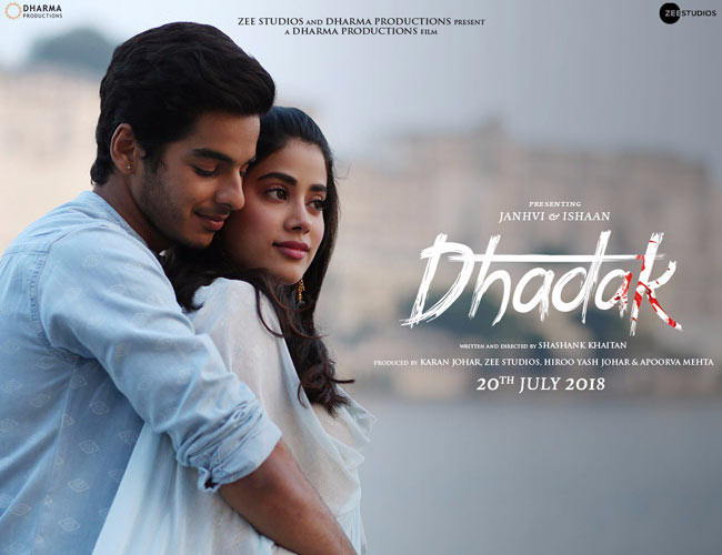 Dhadak released its new poster with official release date