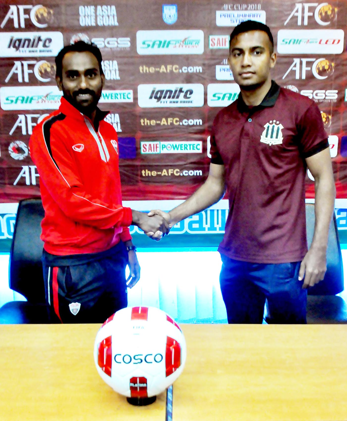 Saif face TC Sports in AFC Club tie