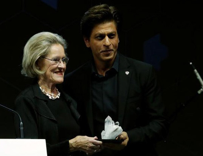 SRK gets special honour at WEF