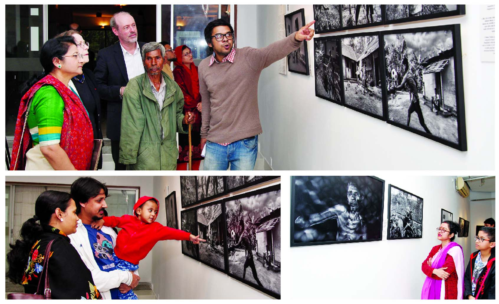 Faiham Sharif's solo photo exhibition