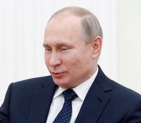 No programme, no debate but Putin cruising to poll win