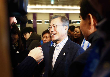 Moon won't discuss possible summit with North Korea's Kim