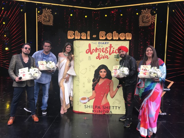 Shilpa launched 'The Diary of a Domestic Diva'