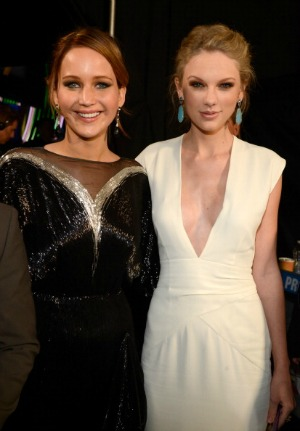 Jennifer Lawrence wants to know this about Taylor Swift