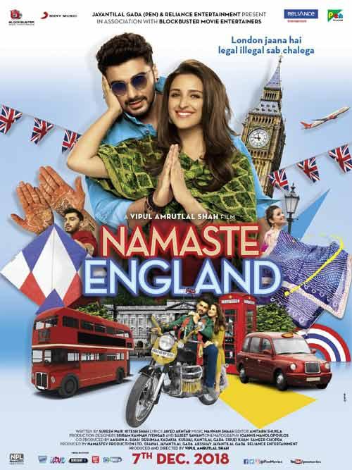 Nervous and excited Arjun Kapoor kickstarts Namaste England shoot!