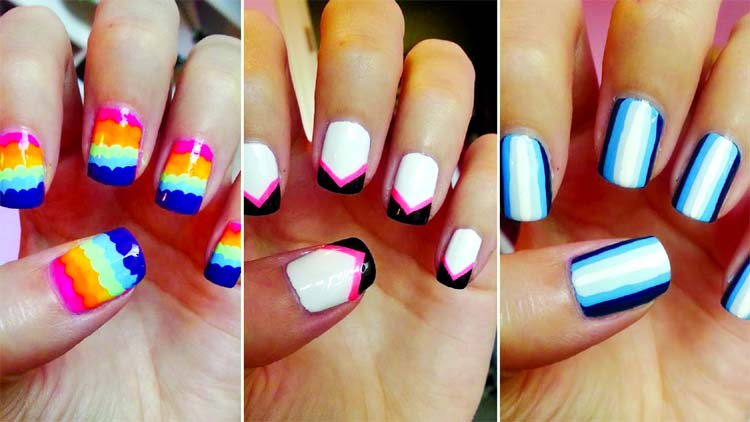 Super Cool Nail Art Ideas For Short Nails