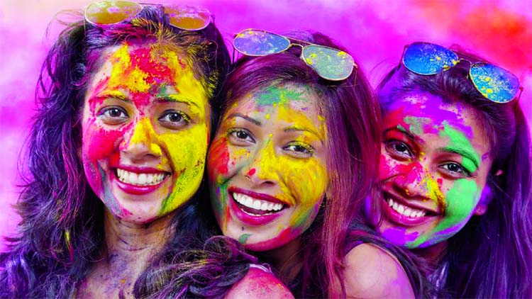 Holi parties are great fun but they surely don't do your hair and skin any favours. Here's how to minimise the damage caused by colours.
