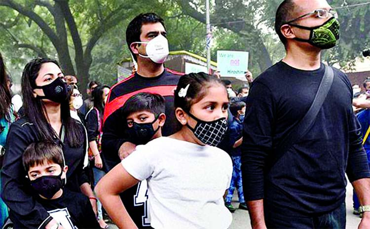 Pollution even when 'safe' slows down brain growth in kids